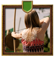 Longbow archery